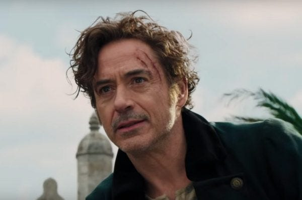 """Robert Downey Jr. stars in """"Dolittle."""" The movie opens Thursday at Regal West Manchester, Queensgate Movies 13 and R/C Hanover Movies 16."""