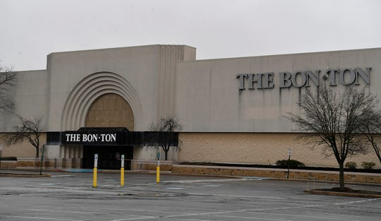 A proposed self-storage center will be taking over the former retail space occupied by The Bon-Ton in the York Galleria Mall, Tuesday, January 14, 2020.John A. Pavoncello photo