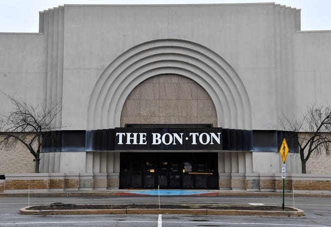 A proposed self-storage center will be taking over the former retail space occupied by The Bon-Ton in the York Galleria Mall, Tuesday, January 14, 2020.