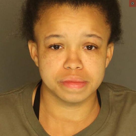 Lillian Muldrow is charged with aggravated assault and simple assault.