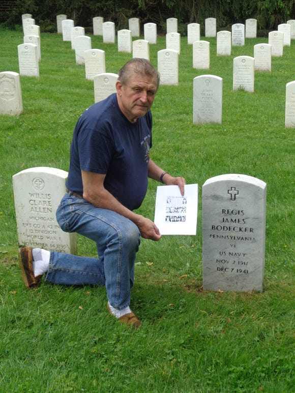 Kenneth J. Zaveckas has been a tireless researcher about three men who died in the Pearl Harbor attack who are buried in Gettysburg National Military Cemetery.