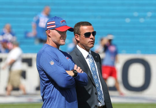 Since coming to Buffalo in 2017, Sean McDermott and Brandon Beane have almost completely overhauled the roster.