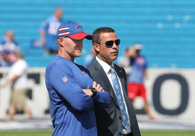 Since coming to Buffalo in 2017, Sean McDermott and Brandon Beane have almost completely overhauled the roster. Their final 53-man roster in 2020 will have 51 players they obtained via the draft, free agency, trades and waiver wire.