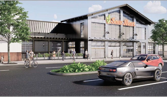 This is a rendering of the new Save Mart store scheduled to open in May 2020 in Redding.
