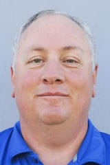 Reagan County basketball coach Ken Campbell