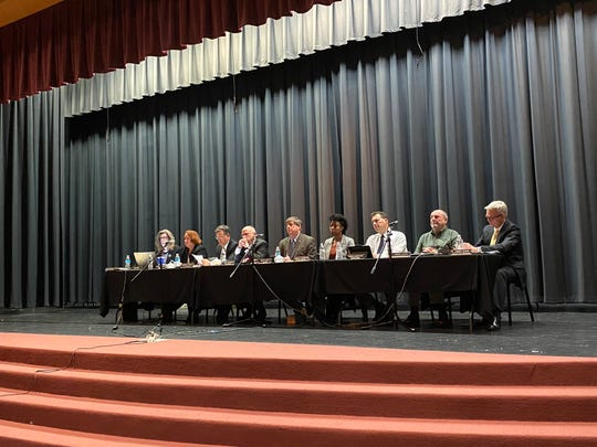 Waynesboro city staff and council members listened to residents on Monday during a special public hearing about the Second Amendment.