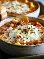 One-Pot Lasagna Soup can be on the table in 30 minutes.