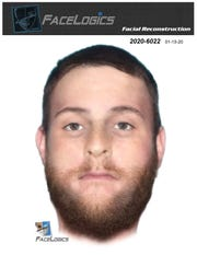 Tallahassee Police investigators released this computer generated image of a man whose body was found off Pecan Road in the hopes it would help the agency identify him.