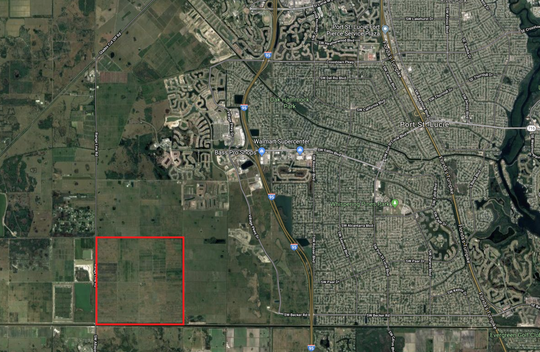 The Wilson Grove site in western Port St. Lucie is located in the southwest corner of the city.