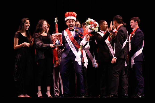 Ferdinand Moscat, Mr. November, was recently crowned Mr. Vineland.