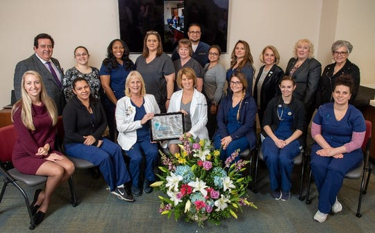 Inspira Vineland's Medical Acute Care Unit received the PRISM Award, a national recognition by the AMSN for nursing excellence. This is Inspira Health's fourth PRISM recognition since 2015.