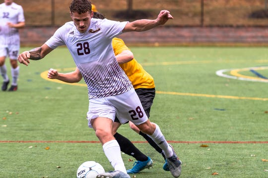 Eric Birighitti, who played for the St. Thomas Aquinas men's soccer team.