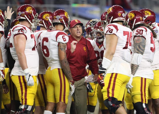 No. 17 Southern California: Clay Helton gets another shot at cementing his job security and will have depth at quarterback along with greater familiarity with the Trojans' pass-happy offensive scheme. As always, there's plenty of talent but a lack of proven depth and questions about the team's general experience. But there's reason to think USC can make a run at nine or more wins during the regular season.