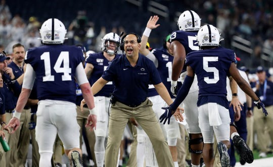 No. 7 Penn State: It would've been great to keep wide receiver KJ Hamler, who brought some danger to the Penn State offense. Even still, the Nittany Lions stand as the greatest threat to Ohio State in the Big Ten and a solid pick to land in a New Year's Six bowl or take home the conference championship outright and book a trip to the national semifinals.