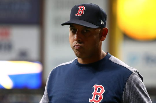 Alex Cora was named Red Sox manager before the 2018 season.