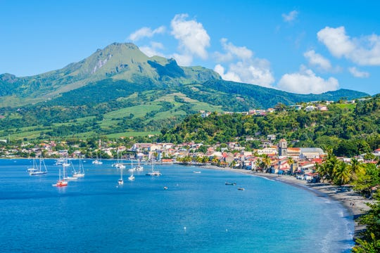 Note that without a passport, this is as close as you'll get to St. Pierre Bay in Martinique, even if you are on a closed-loop cruise that begins and ends at a U.S. port.