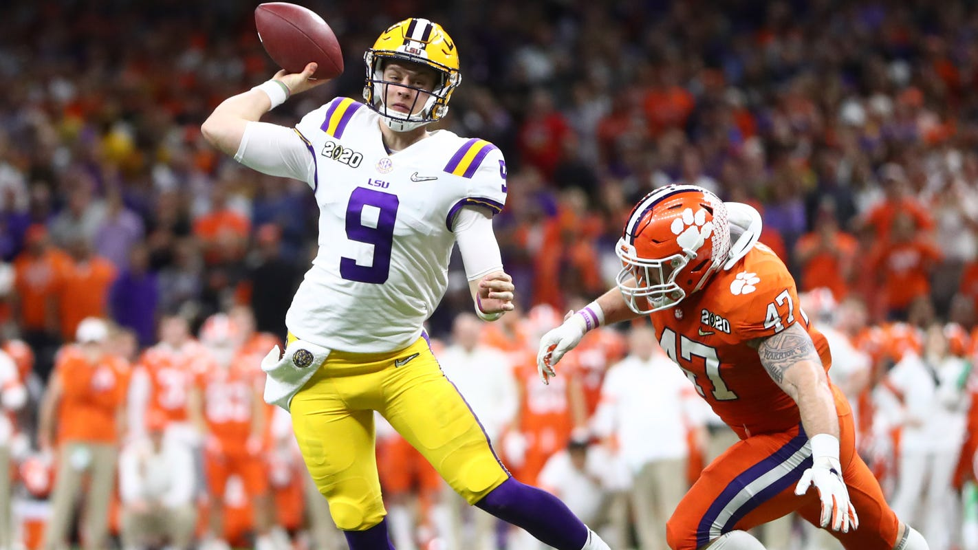 Opinion: LSU's Joe Burrow just finished the greatest season ever by a college QB