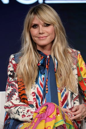 "Heidi Klum talked about her new Amazon series, 'Making the Cut,' during an appearance at the Television Critics Association Tuesday. She also addressed a controversy and investigation surrounding ""America's Got Talent,"" where she has served as a judge."