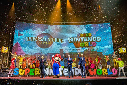 Super Nintendo World is coming to Universal Studios Japan this summer.