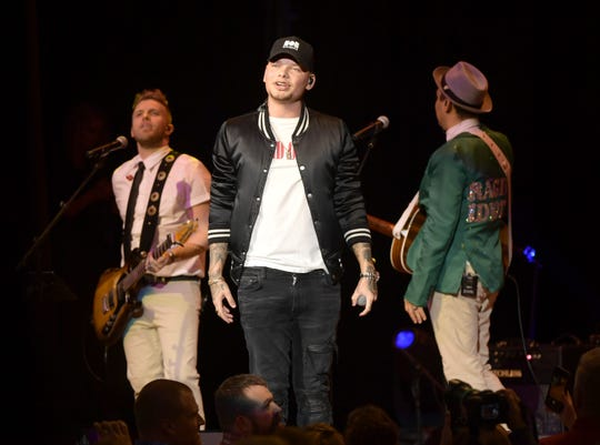 Kane Brown performs at the Bobby Bones & The Raging Idiots' 5th Annual Million Dollar Show at Ryman Auditorium on January 13, 2020 in Nashville, Tennessee.