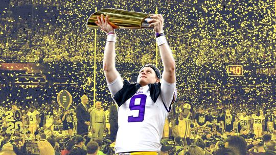 Opinion: LSU's Joe Burrow completes greatest single season by college QB with national title