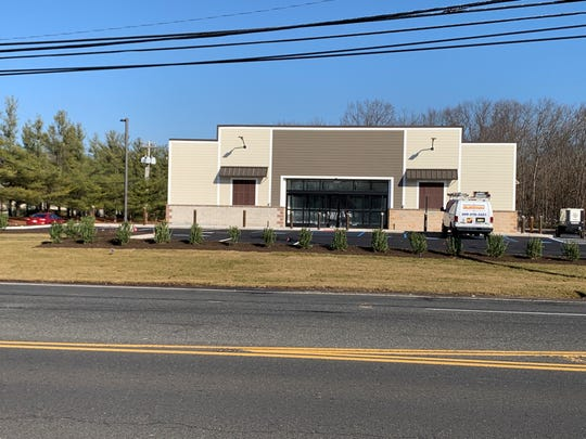 A Dollar General store on Ridgeway Road in Manchester is nearing completion.