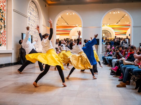 A joyous celebration of Martin Luther King Jr. Day at the Newark Museum of Art.