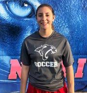 Cooper girls soccer's Victoria Damian.