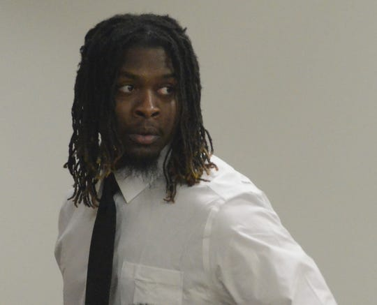 Khanas Ware, 22, is charged with first-degree murder