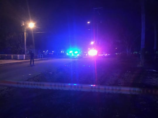 Cocoa police were present in the Peachtree Street area Wednesday night after reports of an officer-involved shooting.