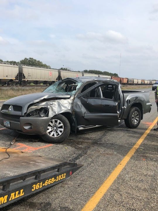 Two women are dead and a third is injured after a rollover accident nearstate highway 44 west of Alice on Wednesday.