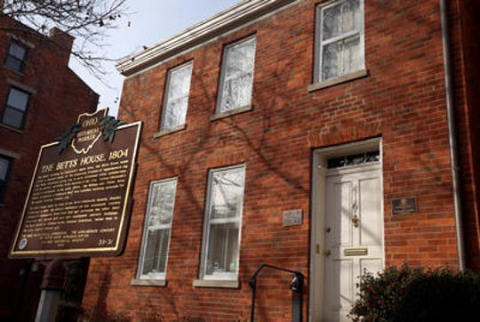 The Betts House is the oldest home in Cincinnati and serves as a tribute to the city's early days of settlement.