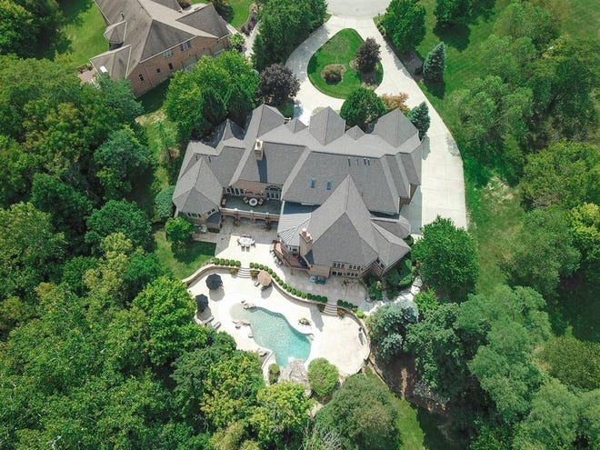 This house a 6646 Ross Lane in Mason has been listed for sale for $2.25 million