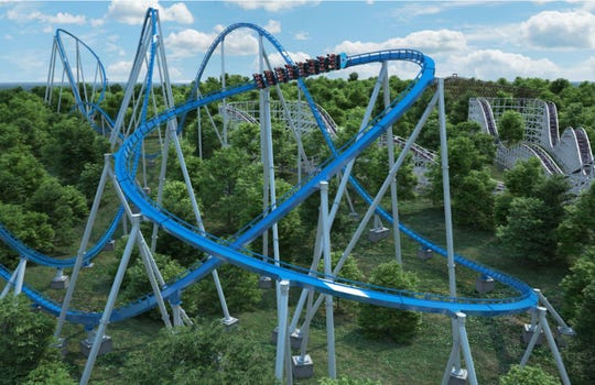 Kings Island's Orion giga coaster track is complete. Here's what it took to build it.