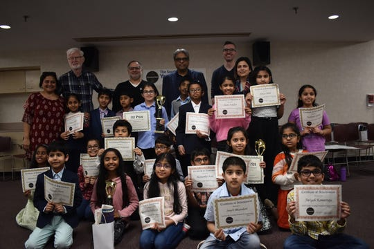 The South Brunswick Public Library Foundation's Young Orators Competition on Jan. 12.
