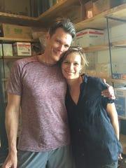 Jon Darsee and his daughter Zoe.