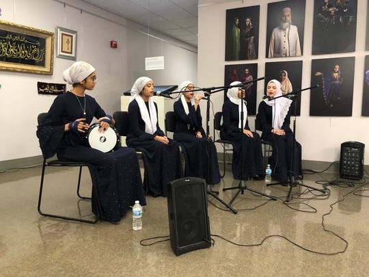Maple Drum Ensemble at Halal Metropolis opening in Howell MI