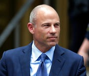 In this May 28, 2019, file photo, California attorney Michael Avenatti leaves a courthouse in New York following a hearing. Avenatti has been rearrested for alleged bail violations, prosecutors in New York told a judge late Tuesday, Jan. 14, 2020.