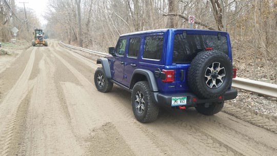 The 2020 Jeep Wrangler Ecodiesel is for off-roading, or sometimes just getting home on Metro Detroit's suburban dirt roads.