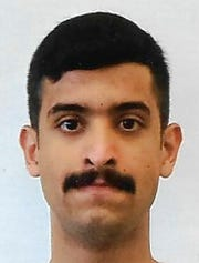 This undated file photo provided by the FBI shows Mohammed Alshamrani.