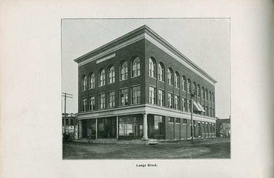 Louie Augustus Lange, who in 1883gambled that Fond du Lac would support a second daily newspaper, built the Lange block buildingon thesoutheast corner of West Second and Macy Streets.