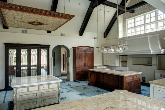 A view of the interior of the French chateau style property at 4735 Fonda Fields Court in Hobart