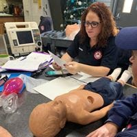 Great Falls Emergency Services announced on its Facebook page on Wednesday Jan. 15  that Paramedic Danine Jasumback died.