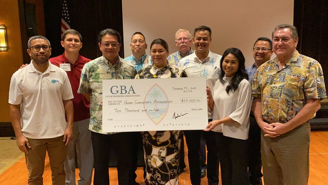 Guam Bankers Association contributed $10,000 to assist the Guam Contractors Association lawsuit against the federal government regarding the H-2B issue on Wednesday, Jan. 15. The groups sought to have H-2B applications approved, citing demonstrated temporary need under the classifications of one-time occurrence and peak-load need.