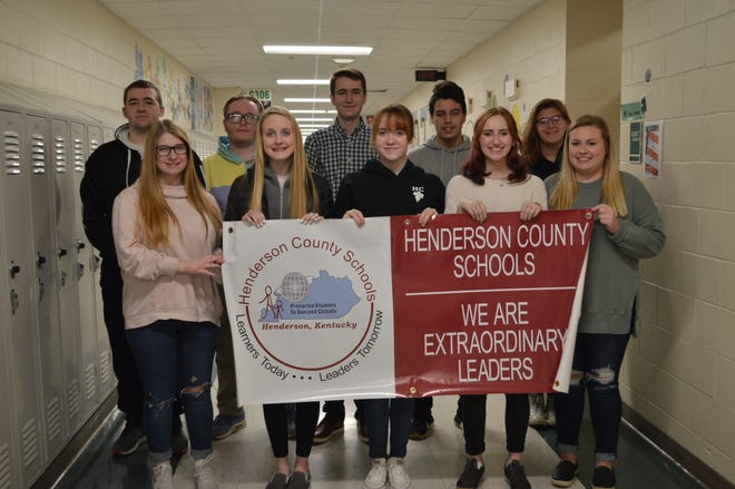 "The CTE Students of the Second Quarter are, in front:  Brianna Goben, Taylor Chambers, Emma Olson, Jada Hamby, Cassidy Coomes. Back:  Joshua Moore, Gauge Goodson, Mitchell Melton, Hunter Goben, Hayley Barker. Not Pictured:  Noah Laughary, Xavier Bugg, Jermaine  ""JJ"" Poynter Jr., Austin Lawless."