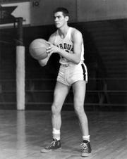 Carl McNulty is pictured during his playing days with Purdue University.
