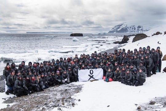 The fourth cohort of the Homeward Bound program. Over 10 years, Homeward Bound aims to send 1,000 to Antarctica through the program.