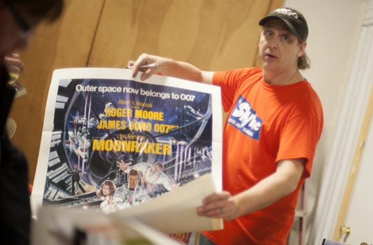 In 2013, Joe Gaudin, owner of the Skyline Drive-in Theatre in Shelbyville, hosted a warehouse sale to raise money to purchase a needed digital projector.