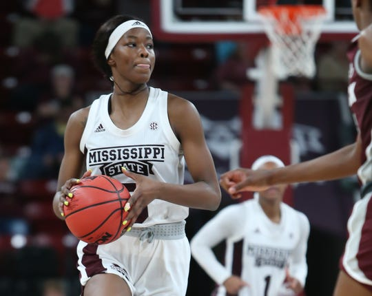 'In a video game': How Rickea Jackson saved the day for Mississippi State