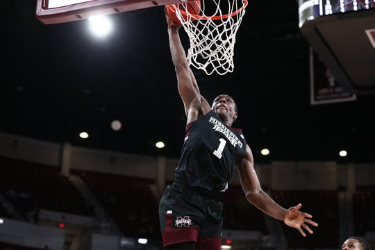Mississippi State sophomore forward Reggie Perry led the Bulldogs to a win over Missouri. The Bulldogs had previously not won an SEC game this season.